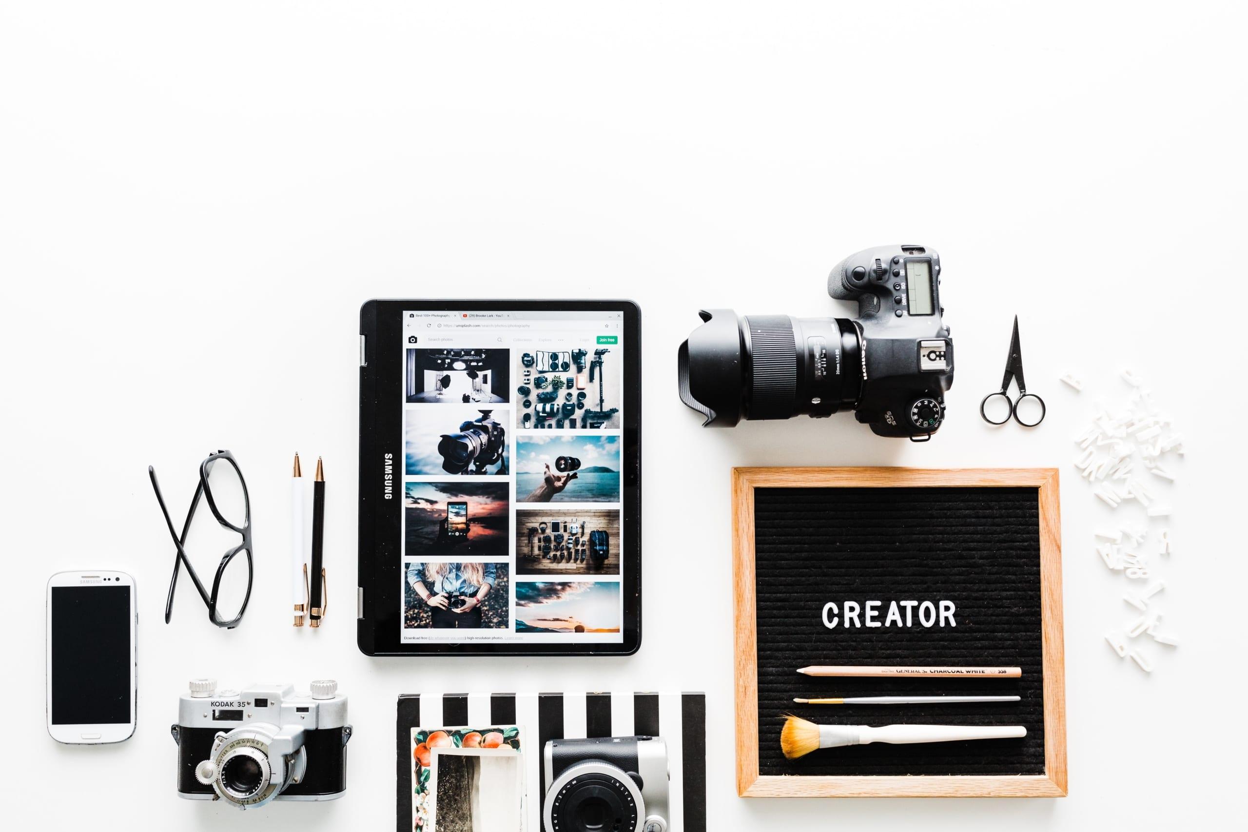 Creating digital content fast
